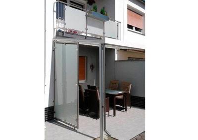 Terrassenüberdachung - Stahldesign Frank Busch